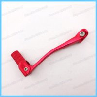 atv shifter - Pit Dirt Bikes Gear Shifter aluminum red Lever For cc Stomp YCF SDG Motorcycle Atv Quads