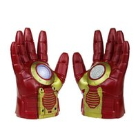 arc music - Licensed Ironman Cosplay Gloves Arc Fx Armor Fists with Flashing Light and Music