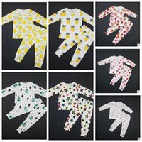 baby sleepsuits - Baby Ins Pajamas Lemon Nightwear Cactus Pineapple Sleepsuits Strawberry Boy Girl Nightwear Pajamas Set Sleepwear KKA525