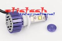 Wholesale by dhl or ems pair W Lm H7 Chips LED Headlight Bulbs Conversion Kit Xenon HID Bulbs HB4 H7 H8 H11 H10 H4