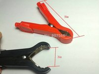 battery cable pliers - 4 A Car battery clip Alligator clips Pliers cables