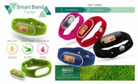 Wholesale new Arrival D Pedometer Watch with quot One Tap Mode Function Silicon rubber Wristband colors MOQ