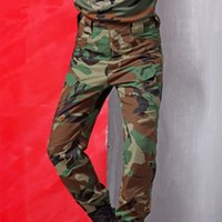 Wholesale Brand Mens Wear resisting Army Hunting Softshell Pants Breathable Camouflage Tactical Pants Realtree Sport Combat Trousers
