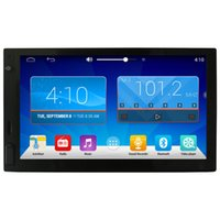 Wholesale Car DVD quot HD Android Full Touch Panel GPS Navigation Car Radio Player Din Universal Quad Core Car Headunit In Dash Video G RAM