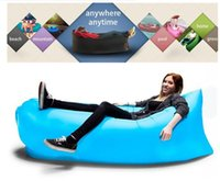 air mattress backpacking - DHL for FREE Siest Fast Infaltable Sleep Bag Lamzac Hangout same as lamzac Lounge Chair Air Sofa sleep bag