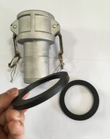 Wholesale rubber DN65 quot NBR gasket for Camlock Coupling Type B C D DC Cam and groove coupler