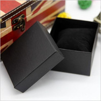 modern jewelry - Factory Manufacturer Promotion Paper Watch Box Watch Gift Packing Box Cheap Jewelry Display Box Black Blue Boxes Free UPS