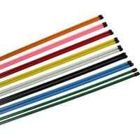 Wholesale 2pcs set Golf Alignment Sticks Swing Plane Tour Training Aid Golf Practice Rods Trainer Aids Golf Supply