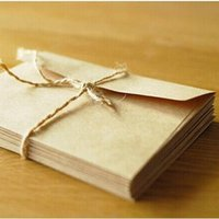 Wholesale mm NEW Vintage Kraft DIY Multifunction envelope set cm Gift envelopes