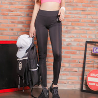 Wholesale Women Sports Yoga pants Fitness Workout Running Hiking ladies High Waist Gym Cycling Sport pants For girls losing weight