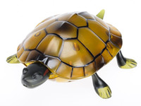 Wholesale New Arrival IR RC Tortoise Simulative Remote Control Animal with Lighting Electric Toy Funny Christmas Kids Gift Hot