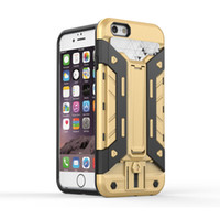 armor protect - Armor Capa Protect case in Fundas For iPhone s Plus With Stand Card Holder Coque For iPhone s