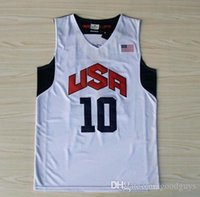 basketball team london - USA Basketball Jersey Kobe Bryant Lebron James Kevin Durant Dream Team London Olympic Games Throwback Stitched