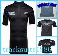 Wholesale 2016 New Zealand All black rugby Jerseys Sport shirt Blues crusader Toulon Highlanders north queensland cowboys chiefs Scotland Stormers