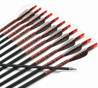 archery target bows - AF New Carbon Arrows quot Spine Archery Arrows Shaft Target Practice Screw Tips