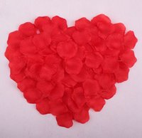 Wholesale 1000 Rose Petals For Weddings Colors Artificial Flowers Wedding Carpet Decoration Petals Silk Rose Petals