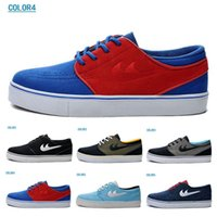 baseball materials - Fashion SB ZOOM Dunk Stefan Janoski Skateboard shoes factory outlet MEN S suede material waterproof Sports Shoes Size US7