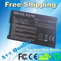 Wholesale Laptop Battery For ASUS F8 F80 F80H F80A F80S F80Q F80L F80M F81 F81SE X82SE F83 F50S X61 X61W X61S X61GX X61SL X61Z X61SL X61Z