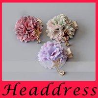 Wholesale The new hot Melaleuca flower children hair girl Princess headdress hairpin Bianka baby ring rope Flower