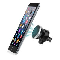 Wholesale Universal Car Air Outlet Magnet Mobile Phone Holder Degree Rotate Navigation Air Conditioning Mouth Magnetic Phone Support
