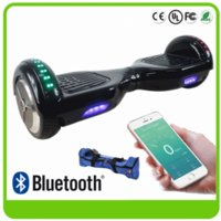 app bag - LED Scooters Hoverboard Bluetooth Balancing Wheels Two Wheels quot Smart Self Balance Scooter Bag Electric Phone APP Skateboard Adult FEDEX