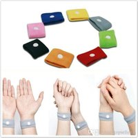 Wholesale Candy Color Anti Nausea Wristbands Car Anti Nausea Sickness Reusable Motion Sea Sick Travel Wrist Bands
