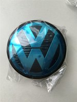 abs caps - Hot Sale mm Car Wheel Cover Badge Wheel Hub VW Center Caps Emblem For VW TOUARET
