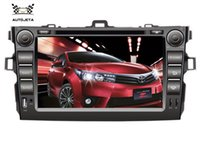 big ones video - 4 UI intereface combined in ONE system CAR DVD PLAYER FOR Toyota corolla big usb BLUETOOTH GPS camera