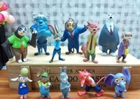 Wholesale 2016 Zootopia style Hand office furnishing articles Anime toys doll Zootopia dolls WJ29