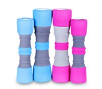 Wholesale Small women dumbbell kg piece pink blue color Fitness bodybuilding exercise support