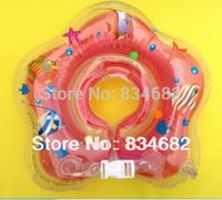 Wholesale J G Chen New Summer Indoor Children Baby Kids Infant Swimming Neck Float Ring Safety Aid Tube Swimming Neck Ring pairs