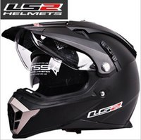 airbag motorcycle helmet - genuine dual lens Motocross Helmets LS2 MX455 motorcycle helmet full helmet dual lens there are airbags capa