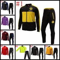Wholesale 2016 hot Adult soccer Jackets coat set man clothes winter spring men sports coat Real Madrid Chelsea Paris training suit