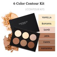 Wholesale Makeup Colors Face CONTOUR KIT Bronzers Kit Make up Face Powder Foundation Bronzers Highlighters palette