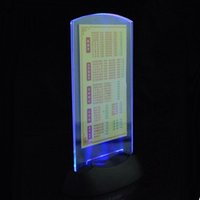 bar drink menu - LED Drink List LED Menu LED Table Menu Restaurant Hotel Bars KTV Night Club Powered by AAA Battery