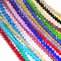 Wholesale High quality Crystal Faceted Glass Quartz Beads mm Gemstone Loose Bead Jewelry Finding DIY Material