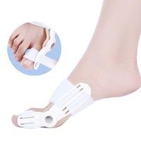 Wholesale Single Piece Toe Corrector Big Toe Hallux Valgus Bunion Splint Straightener Bandage Foot Pain Relief Corrector