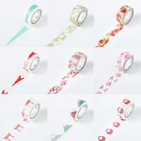 Wholesale Three years class two hand hand tear tape account no trace of small fresh DIY hand account manual ornament cute