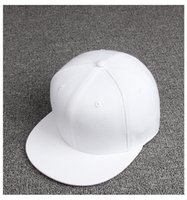 Wholesale Fashion Plain Solide Color Plain Baseball Cap Street Dance Hiphop Hat for Unisex