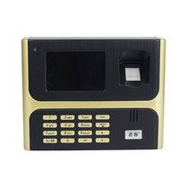 Wholesale New Large Color Screen Free Software Simple Operating Biometric Fingerprint Attendance Machine F6105J