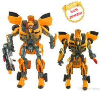 Wholesale The fourth generation Super Hornet variant robots Super Robot variant with sound and light features children s toys