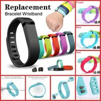 flex belt - New Replacement Fitbit Flex Band Silicone Bracelet Strap Belt For Fitbit Flex Wristband With Activity Clasps S L Size