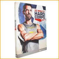 best fitness exercises - 2016 In Stock Best Price Workout DVD Minute Hard Corps DVDs Workout Program mins Base Kit Exercise Videos Bodybuiding fitness DVD