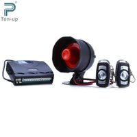 Wholesale Universal Car Alarm System One Way Vehicle Burglar Alarm Security Protection System Keyless Entry Siren with Remote Control