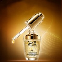 Wholesale 2016 New Skin Care Pure K Gold Essence Day Cream Anti Wrinkle Face Anti Aging Collagen Whitening Moisturizing Hyaluronic Acid Liquid