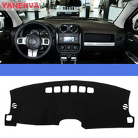 Wholesale Car Accessories Interior Car Dashboard Cover Light Avoid Mat Fit For Jeep Compass