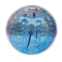 Wholesale Body Zorb Bubble Football Suits Blue Balls Indoor or Outdoor TPU or PVC Diameter m m m