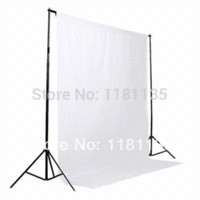 Wholesale Hot Sale White Cotton Non pollutant Textile Muslin Photo Background Studio Photography Screen Backdrop Background Cheap Background