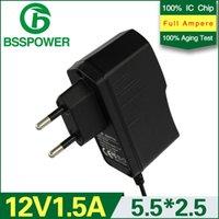 Wholesale high quality universal ac v v switching power supply adapter dc v a mA adaptor EU plug mm monitor used