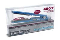 babyliss hair straightener - 2016 High quality babyliss PRO F1 quot plate Titanium babylist Hair Straightener Straightening Irons Flat Iron with Retail Box DHL Free